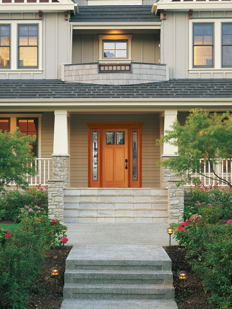Front Door Craftsman Exterior Design