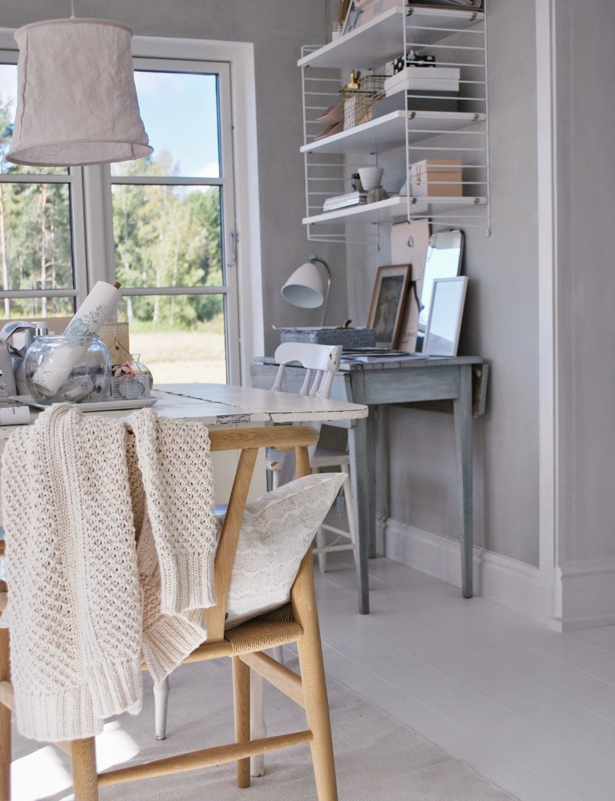 Incorporate Shabby-Chic Style Home Office Design Ideas