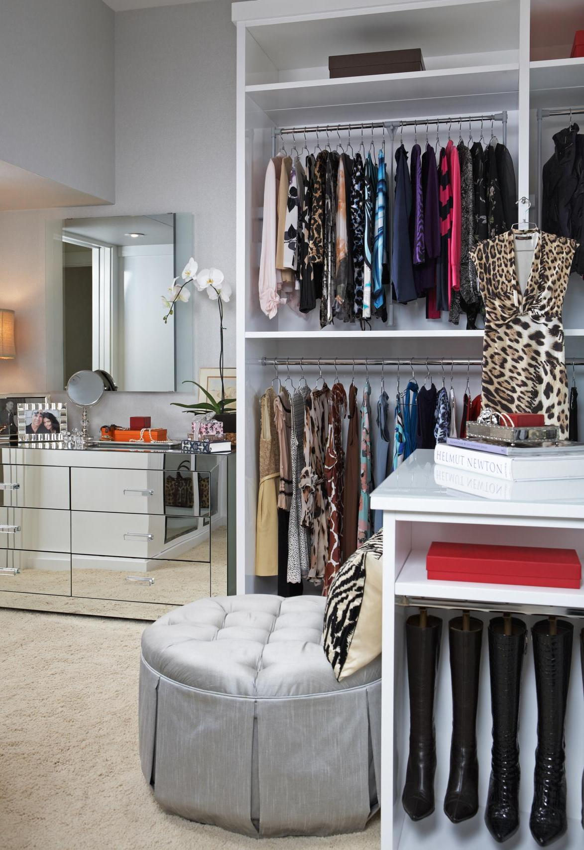 Opulent Contemporary Closet Design
