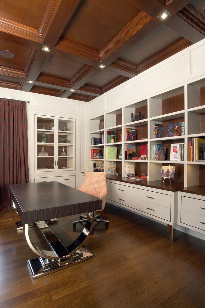 Traditional Modern Home Office Design