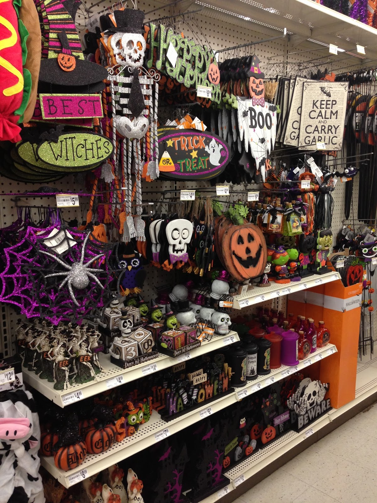Cute Dollar Store Halloween Decorations