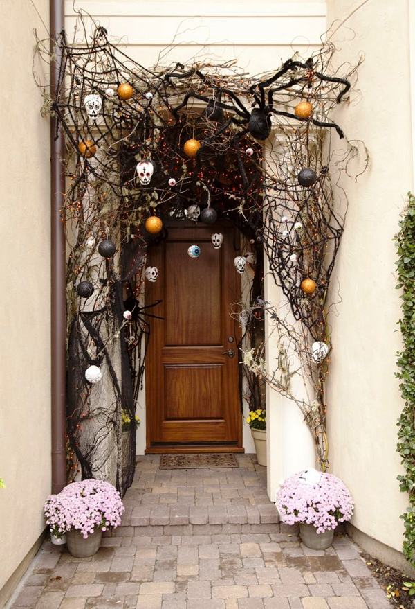 Front Door Halloween Decoration Ideas