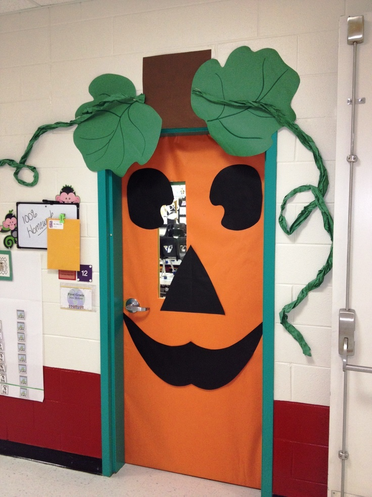 Halloween Pumpkin Classroom Decorations