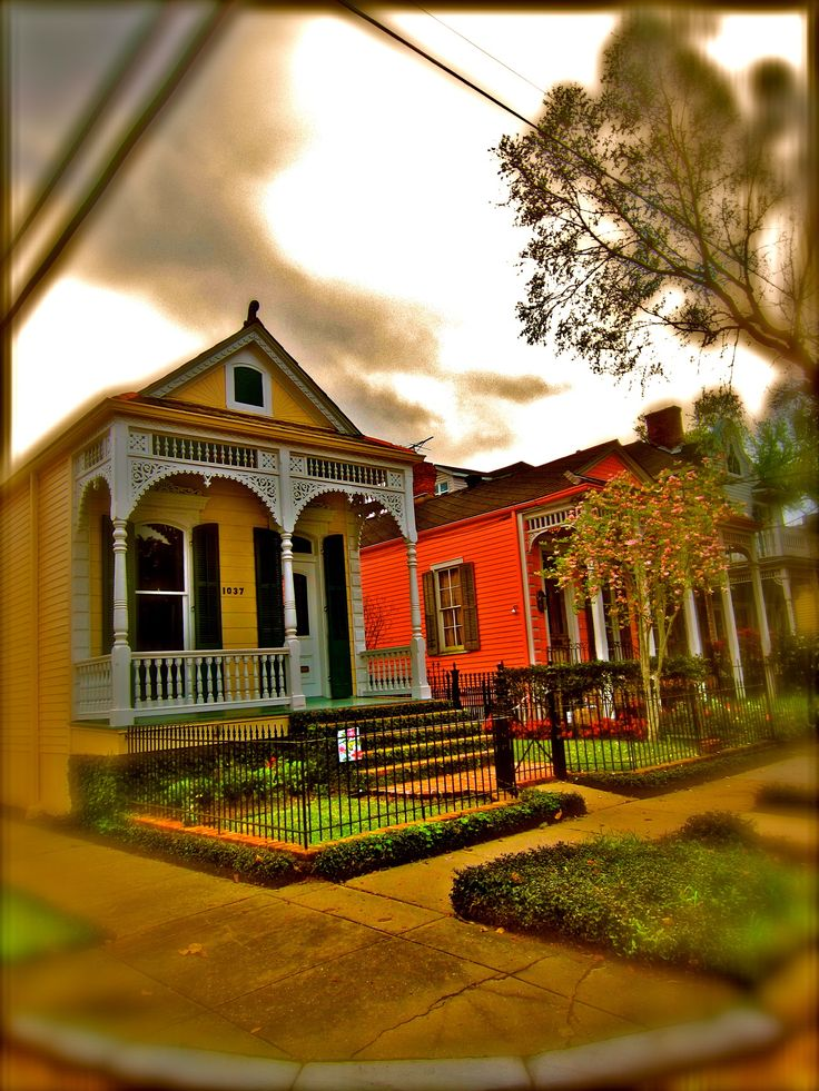 New Orleans Victorian Houses Exterior Design