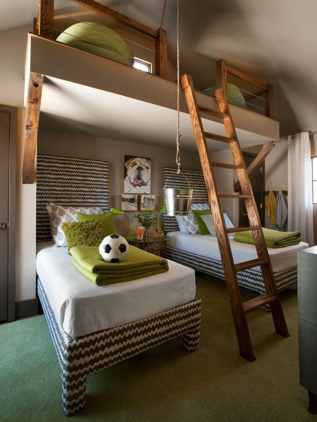 Boys Room with Loft