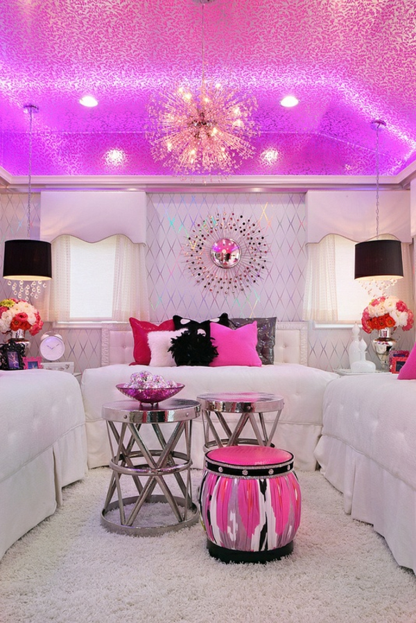 Pink Master Bedroom Design