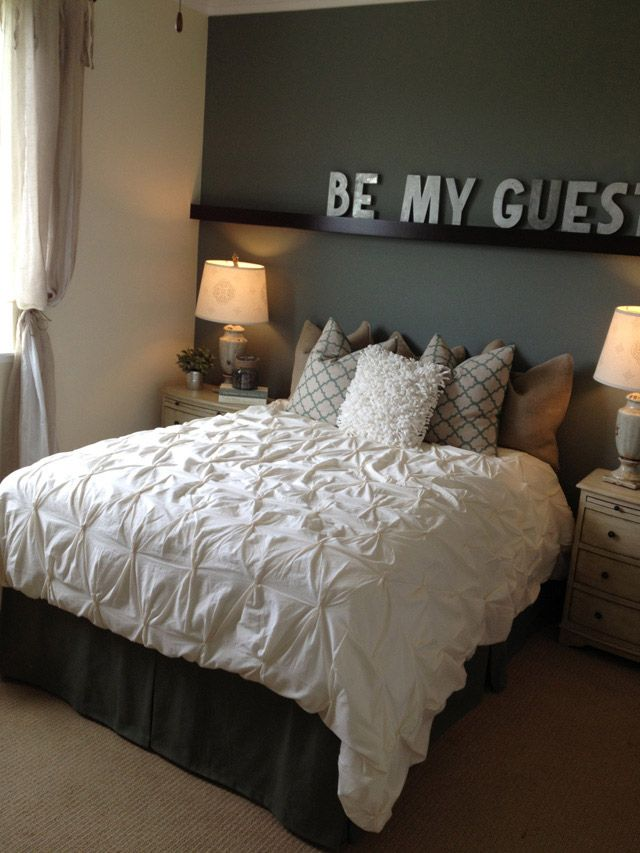 Be Our Guest Guest Room Idea