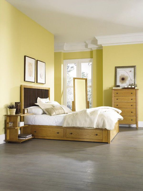Bedroom Wall Color Yellow