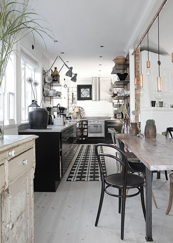 Cool Industrial Kitchen