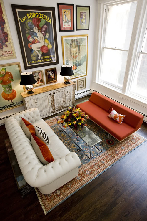 Eclectic Living Room Decor Ideas