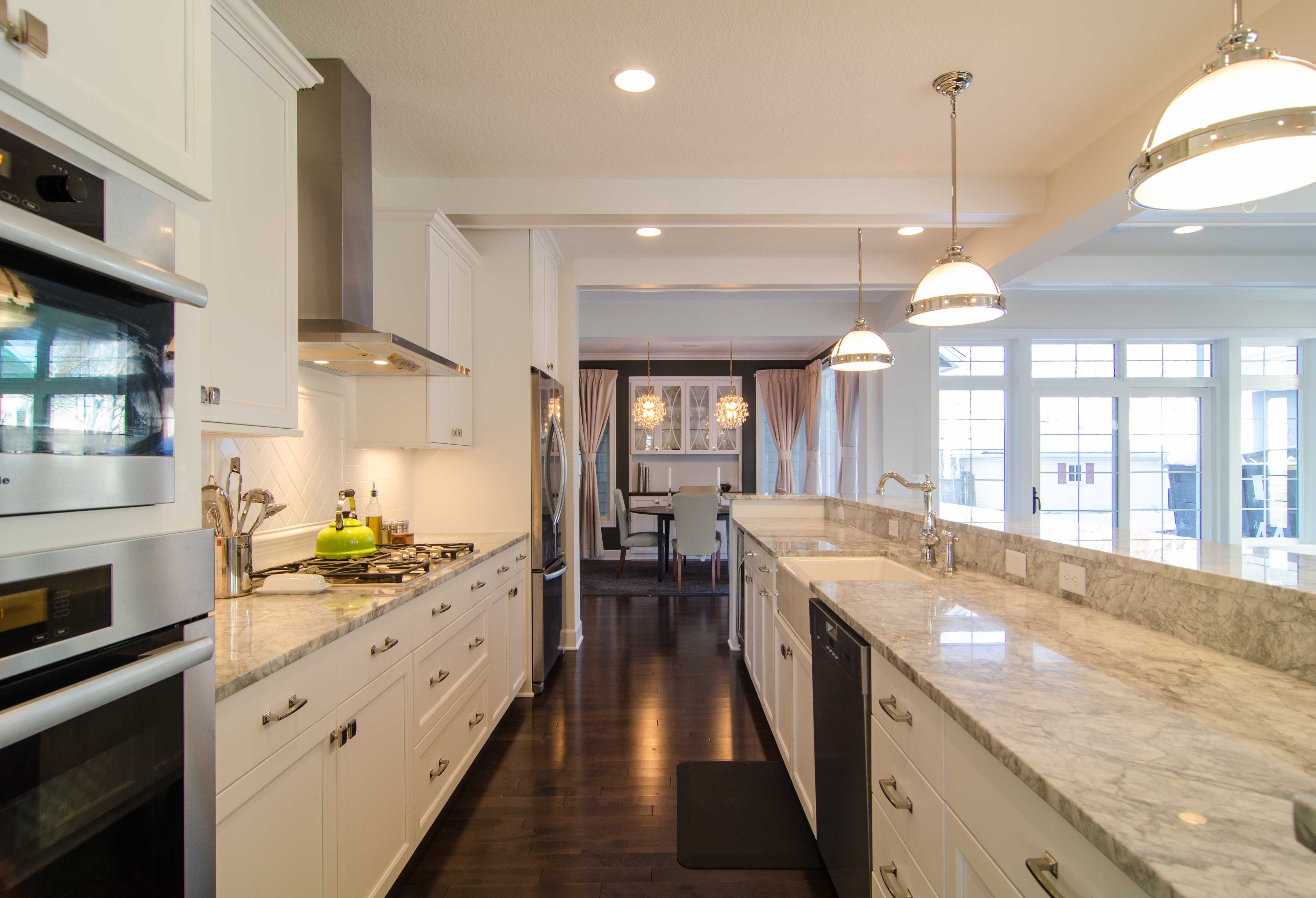 galley kitchen island 30 beautiful galley kitchen design ideas decoration love 7824