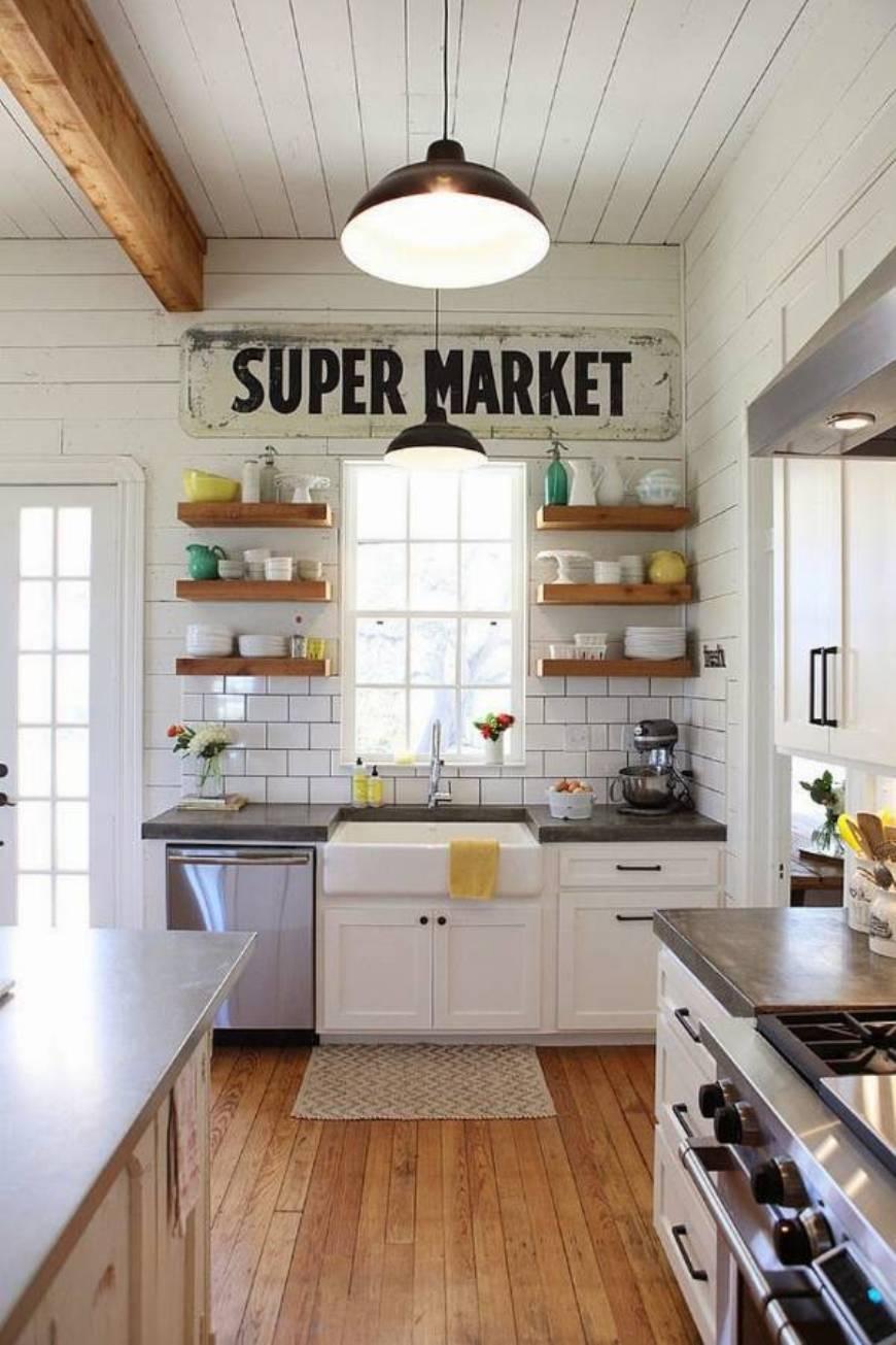 Joanna Gaines Farmhouse Kitchen