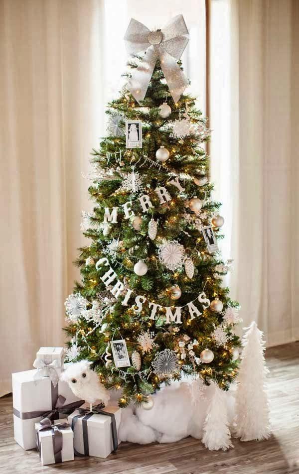 2016 Christmas Tree Decoration Ideas