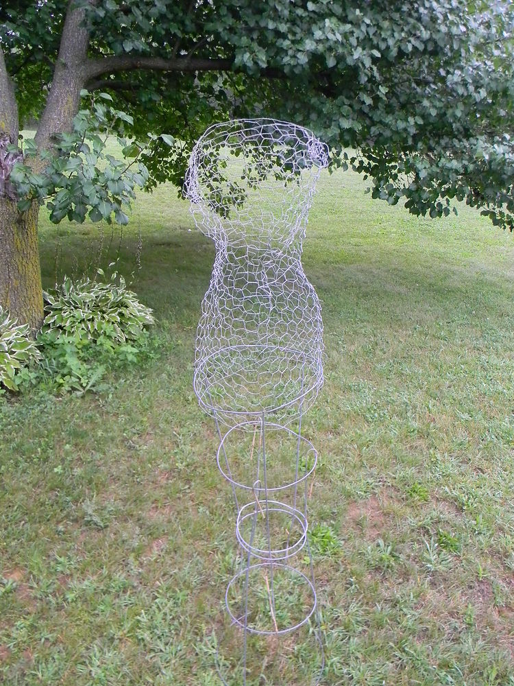 Chicken Wire Dress Form