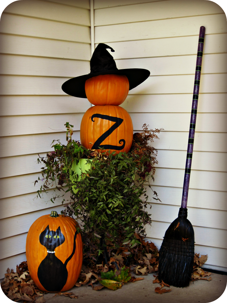 DIY Halloween Porch Decorations