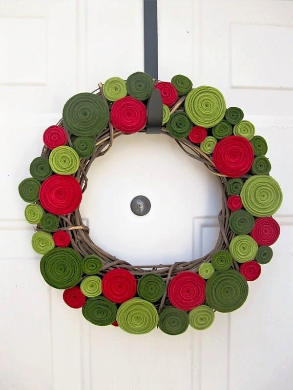 Felt Christmas Wreath