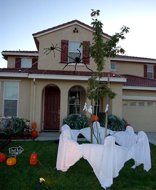 Halloween Ghost Decorations Outdoors