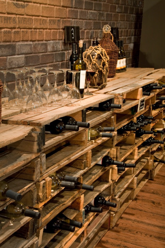 Pallet Diy Wood Wine Cellar