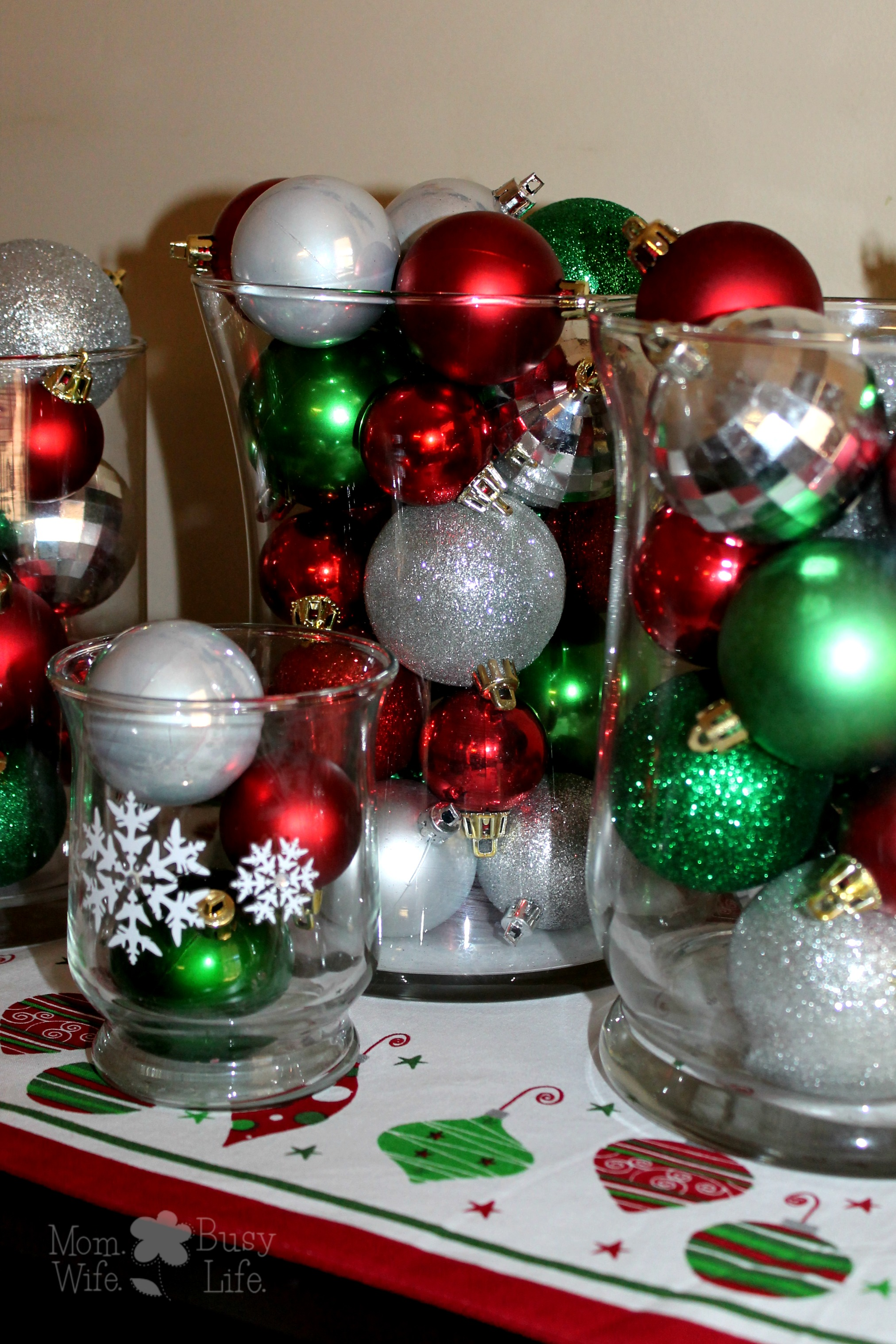 Quick and Easy Christmas Decorations