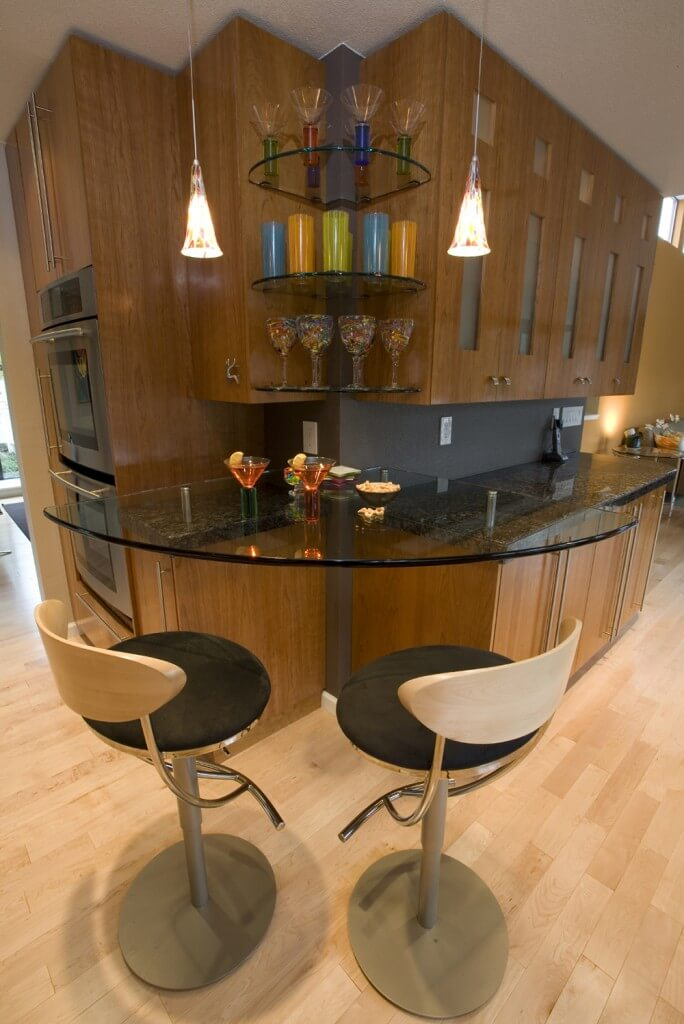 Residential Contemporary Bars