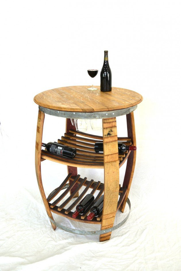 Wine Barrel DIY Wood Projects