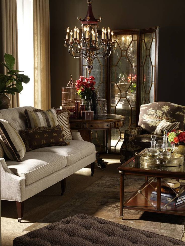 chocolate-brown-living-room-ideas