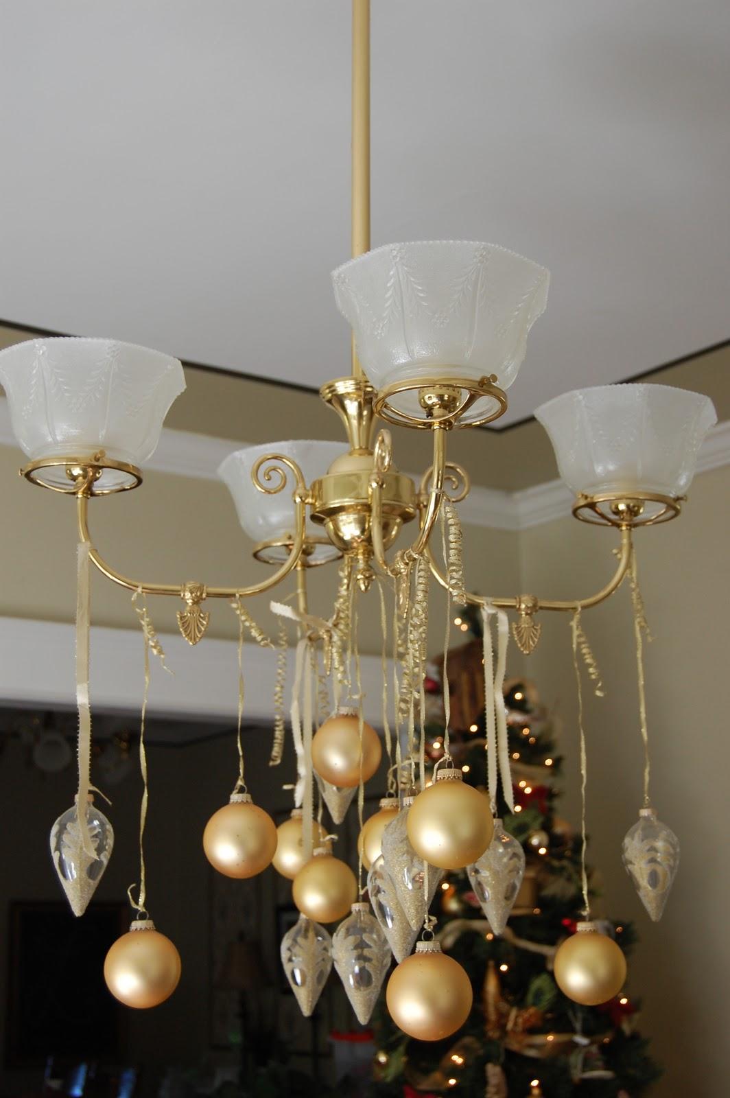Christmas Decorating Light Fixtures