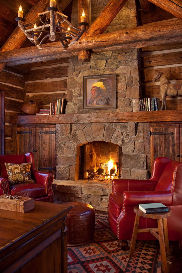 rustic-cabin-with-warm-living-room