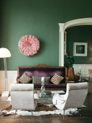 25 Green Living Room Design Ideas