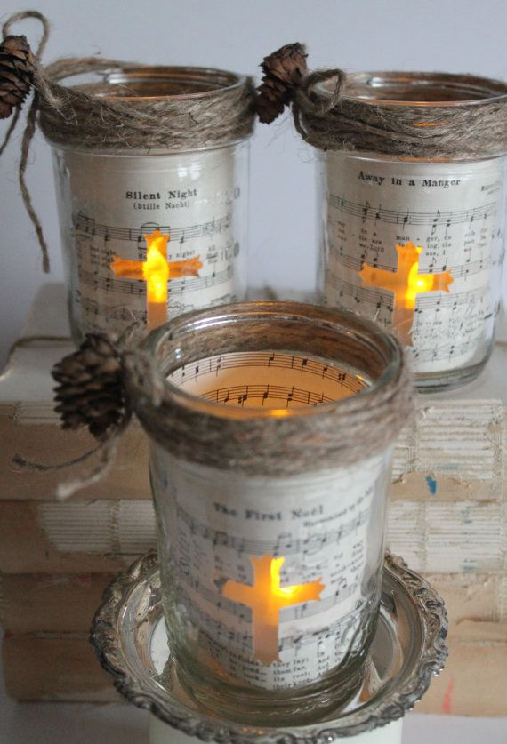 Vintage Mason Jar Christmas Crafts