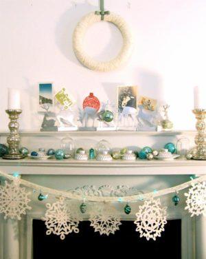 38 Great Christmas Mantel Decorations Ideas