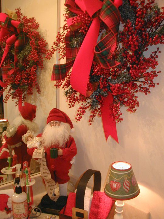 cute-christmas-home-decorating-bathroom-design