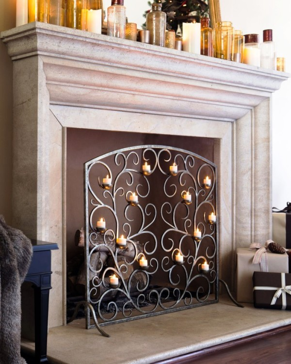 decorative-fireplace-candles