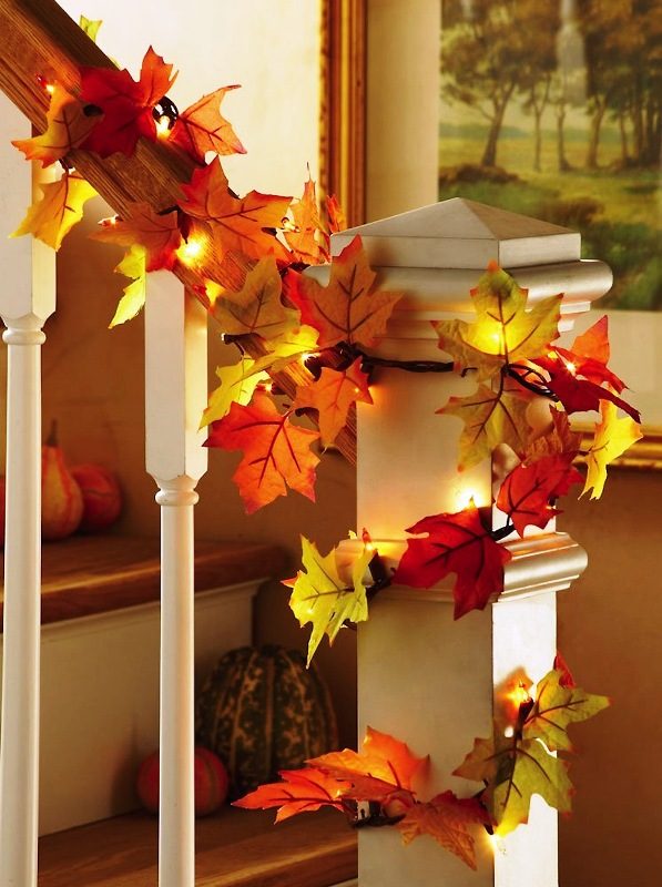 fall-leaf-garland-with-lights-indoor-ideas
