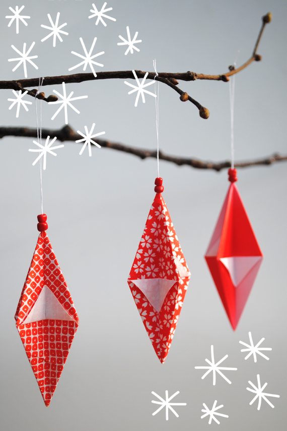 origami-christmas-ornaments