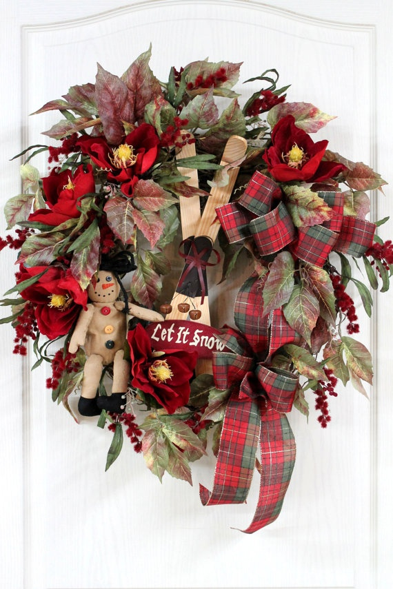 primitive-country-christmas-wreath