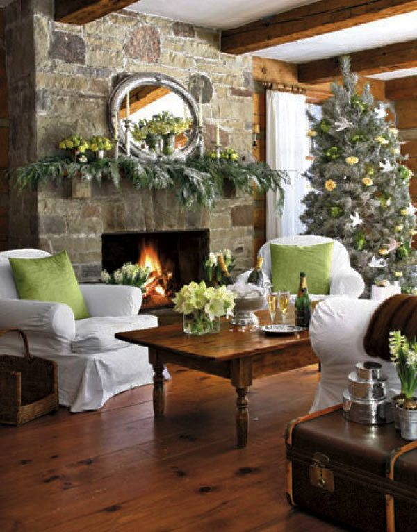rustic-christmas-living-room-decorating