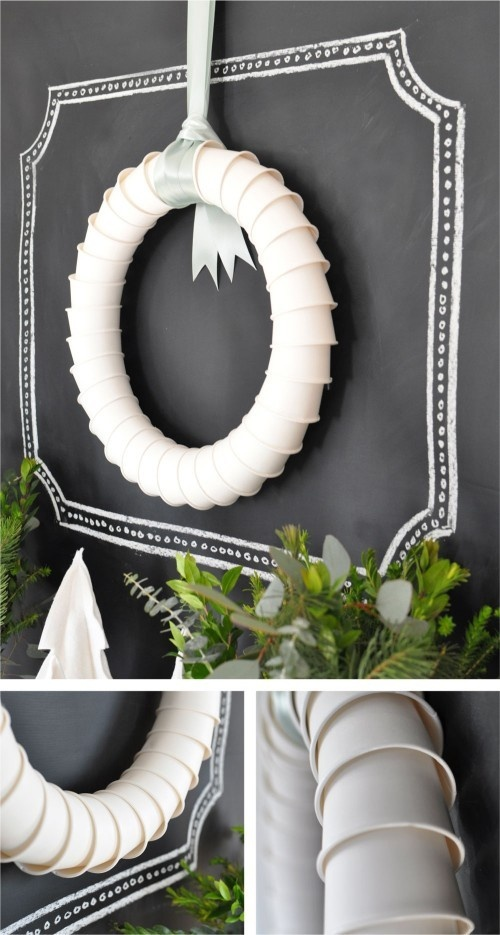 wreath-made-from-paper-cups