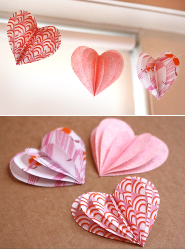 diy-valentine-paper-heart-crafts