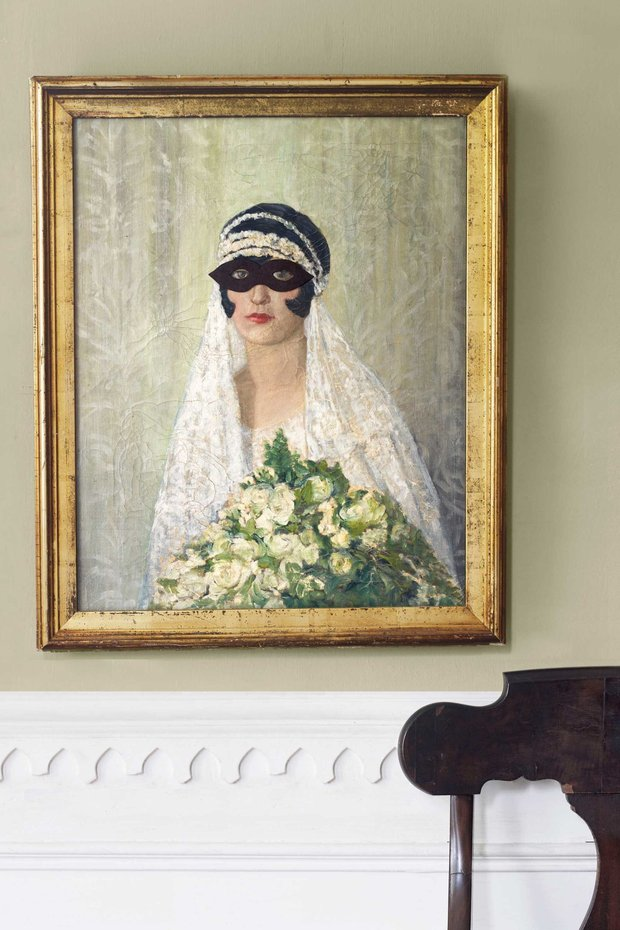 Masks for paintings and photographs