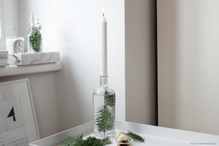 15. Candleholder with bottle