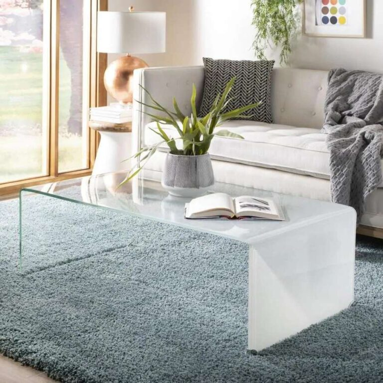 Transparent coffee tables