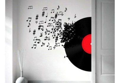 Vinyl Record Decor
