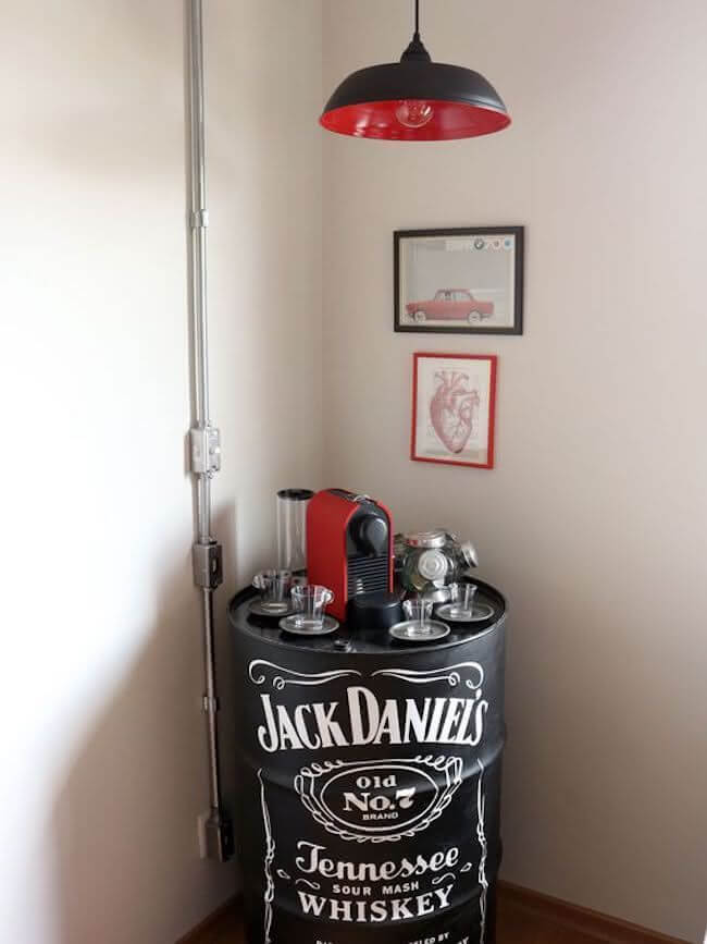 Industrial decoration for home office 2