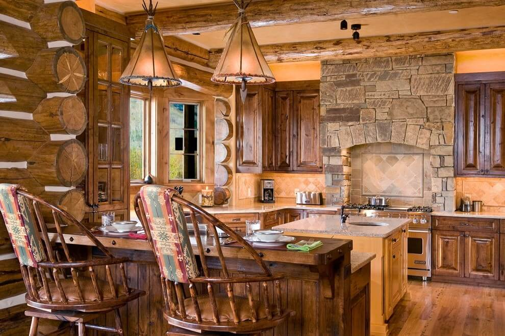 Kitchen on the ranch