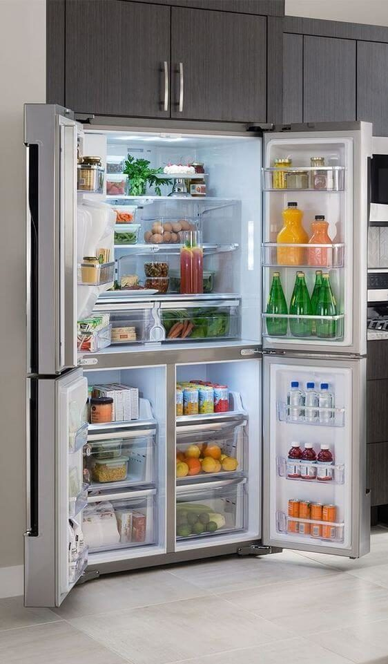 10- Last but not least the refrigerator