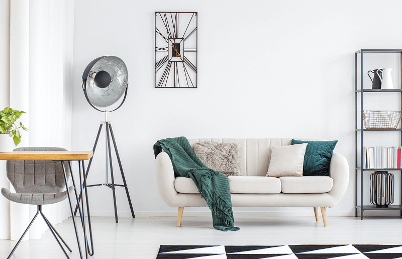 Start by choosing the ideal sofa