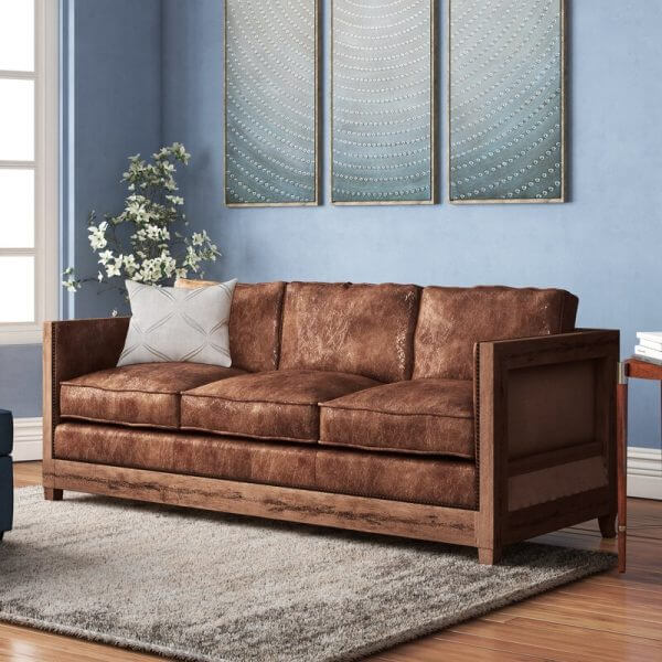 Wooden furniture classic rustic style